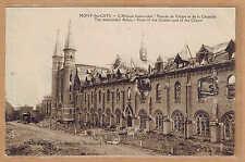 Cpa Mont des Cats - l'abbaye bombardée tp0430