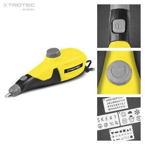 TROTEC Graviergerät | Gravurstift | Graviermaschine | Gravierer | PEGS 10-230V