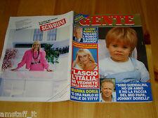 GENTE=1985/23=RAFFAELLA CARRA=ENZO ARBORE=GIANFRANCO FERRONI=JEAN BEDEL BOKASSA=