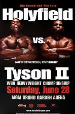 MIKE TYSON vs. EVANDER HOLYFIELD (2) / Original MGM Onsite Boxing Fight Poster