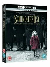 SCHINDLERS LIST 25TH ANNIVERSARY 4K Blu Ray 3 Disc Version Stunning Extras