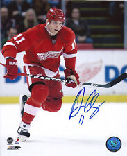 Dan Danny CLEARY Signed DETROIT RED WINGS 8x10 Photo