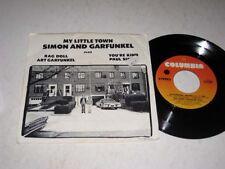 45 RPM EP/PIC SLEEVE Simon & Garfunkel MY LITTLE TOWN