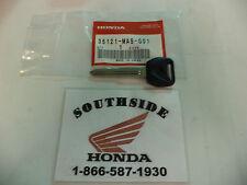 GENUINE HONDA KEY BLANK CB600F CBR1000RR CBR1100XX CBR250R  35121-MAS-G01