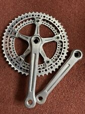 Campagnolo Super Record Strada Drillium Chainset Cranks 170 52/41 Excellent