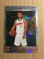 2007 TOPPS CHROME JARED DUDLEY #137 ROOKIE REFRACTOR