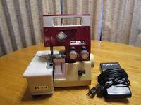 Riccar Lock Serger Model RL-333  Sewing Machine    7016