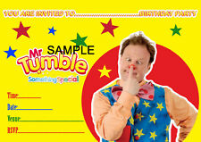 Mr Tumble Something Special A5 Size Childrens Glossy Party Invitations - 20/Pack