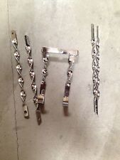"""20"""" Lowrider Bicycle Twisted Spare Tire Kit Chrome"""
