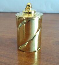Thimble Case Brass Spiral 18th century Repro
