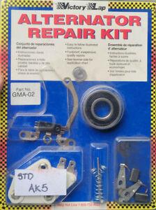 Victory Lap GMA-02 GM 27SI Repair Kit NOS Alternator Rebuild Kit J