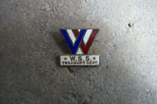 WWII US WSS Treasury Dept. Bond Sales award pin Greenduck Co