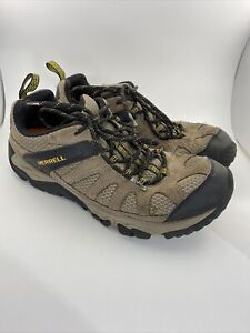 Merrell Outright Inferno Brown Boulder Old Gold Hiking Shoes Men's 8 J342288C