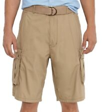 Mens NWT Levis Snap Cargo Shorts Harvest Gold Relaxed Fit Below the Knee sz 30