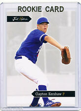 LP~RC~CLAYTON KERSHAW 2006 Just_ROOKIE CARD~06~MVP~CY YOUNG~CYA~ALL-STAR~DODGERS