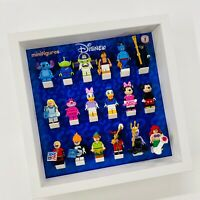 Display Frame for Lego Disney Series 1 minifigures 71012 no figures 27cm