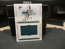 National Treasures Rookie On Card Autograph Jersey Dolphins Jake Long 02/25 2008