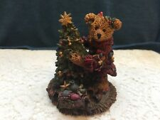 Boyds Bears And Friends Elliot & The Tree Figurine Style 2241