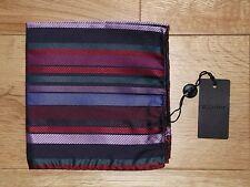 BNWT - Duchamp Phantom Stripe pochette (pocket square)