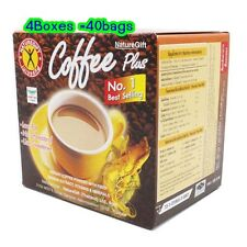 4boxes=40Sachets NATUREGIFF COFFEE WEIGHT LOSS DIET COFFEE PLUS FAST SLIM DETOX