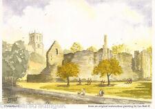 Postcard: Les Bott - Christchurch, Dorset (Pilkington Family Trust)