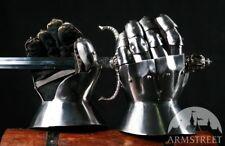 Medieval Men's Finger Gauntlets; Men's gloves for SCA Armour gauntlets/gloves