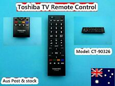Toshiba Television TV Remote Control Replacement CT-90326 **Brand NEW** (C549)