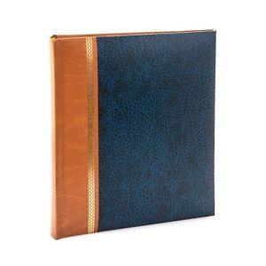 Kenro Grace Series A4 Navy Blue Faux Leather Photo Album 100 Photos - KD148