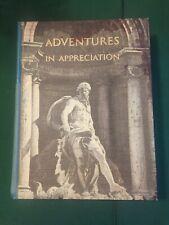Adventures in Appreciation ©1968 Harcourt, high school literature textbook