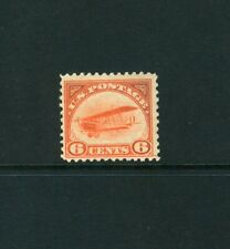 SCOTT#C1, 6c ORANGE CURTISS JENNY. F/VF & NH.