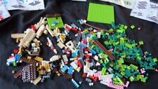NANOBLOCKS BULK LOT bricks base plate parts pieces manuals building micro set