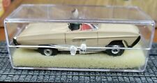 Aurora HO Tjet Original #1355 '63 T-BIRD in TAN with chassis
