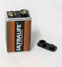 9V Ultralife U9VL-J Metal Jacket Lithium Battery 1200mAh MADE IN USA Smoke Alarm
