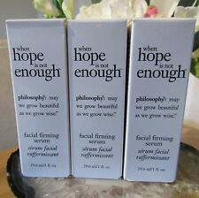 Philosophy When Hope Is Not Enough Facial Firming Serum 29.6ml x 3 = 90ml