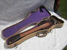 FABULOUS VINTAGE Oahu hawaiian Electric Lap Steel Guitar 1950s ORG. TWEED Case