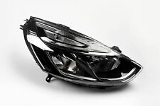 Renault Clio MK4 16- Headlight Headlamp Right Driver Off Side With Chrome Trim