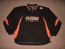 Philadelphia Flyers Black CCM Center Ice Men's Medium NHL Windbreaker Jacket