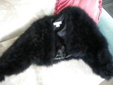 Fur Feather Jacket Coat SONIA RYKIEL PARIS