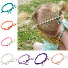 10Pcs Baby Kids Girl Toddler Bow Headband Elastic Hair Band Headwear Accessories