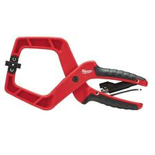 Milwaukee 4 in. Plus Stop Lock Hand Clamp Durable Grip Hex Release Vise Tool