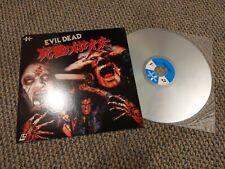 The Evil Dead Laserdisc Japan SF078-5044 Horror