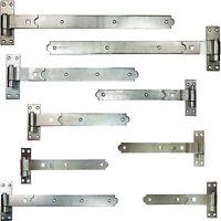 Garage Door & Gate Hinges Gudgeon Hook & Band Strap - UK Quality Price Per Hinge