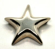 Mexico Puffed Star Pin/ Brooch (T55) Vintage Tiffany & Co 925 Sterling Silver