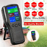 Indoor Air Quality Monitor PM2.5 PM10 HCHO TVOC LCD Digital Detector 8In1