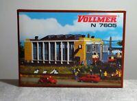 Vollmer 7605 Spur N Lokschuppen Bausatz ungebaut neuwertig mit OVP