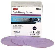 3m Hookit Purple Finishing Film Abrasive Disc 260l 30366 3 In P2000
