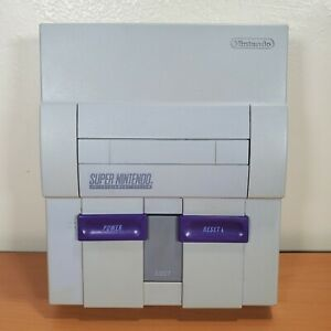Original Super Nintendo SNES Console System ONLY SNS-001 AS IS for PARTS REPAIR