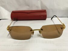 Authentic Cartier Rimless Frame Len  19-135-USED