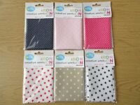 FUSIBLE IRON ON FABRIC SHEETS A4 SIZE 29.7 CM X 21 CM DIFFERENT PATTERNS