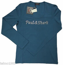 "Paul & Shark P&S Yachting ""Swarovski"" Damen Shirt I13F0114 Fb. 200 Gr.:XS"